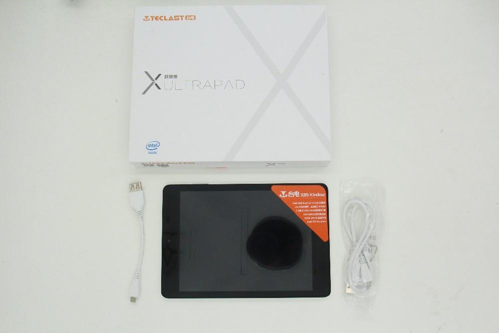 Prix pour Teclast X89 Kindow Windows10 + Android 4.4 Lecteur Tablet PC Z3735F Quad Core 7.5 pouce IPS Écran 2 GB RAM 32 GB ROM Bluetooth 4.0