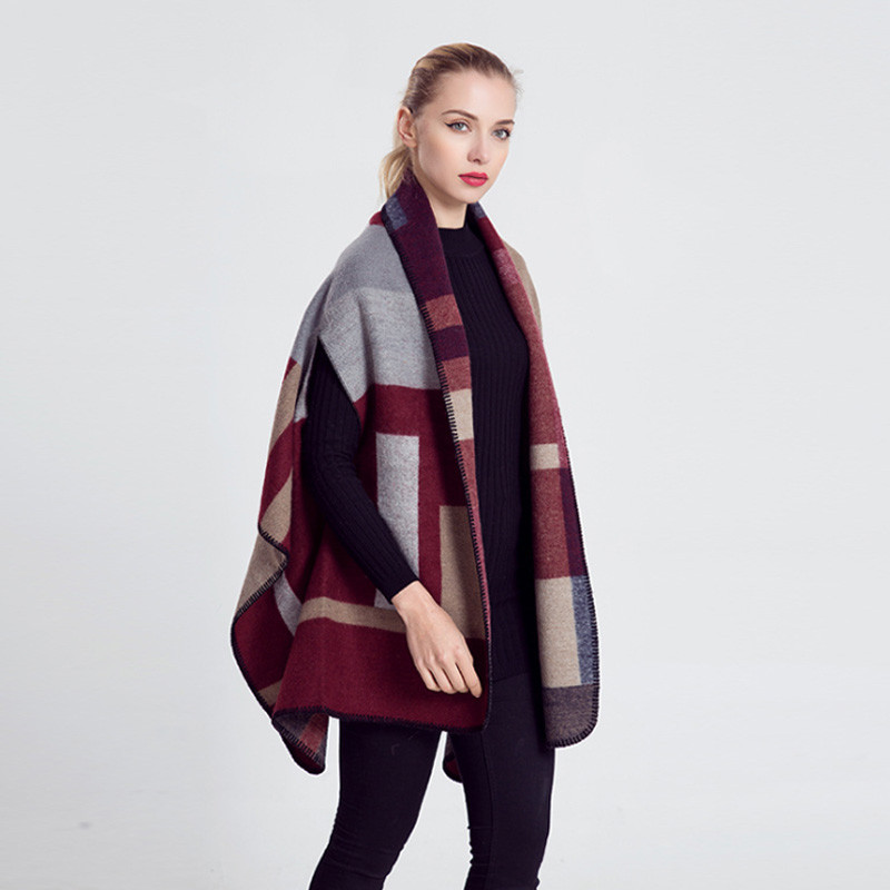 Lego Mix Colors Cape | Shawls and Wraps | Upto 60% Off Now