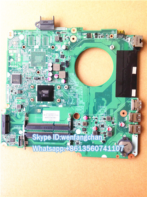 Free shipping  Laptop Motherboard  A4-5000  CPU For  15 15Z 15-N Series 734826-501 DA0U93MB6D0 Mother board