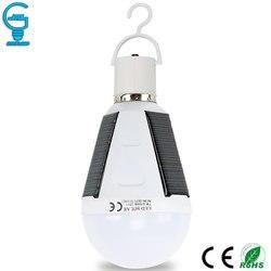 Gitex Перезаряжаемые светодиодный лампы E27 светодиодный Солнечная светодиодные лампы 7 Вт 12 Вт 85 В постоянного тока-265 V чрезвычайная ситуация ...