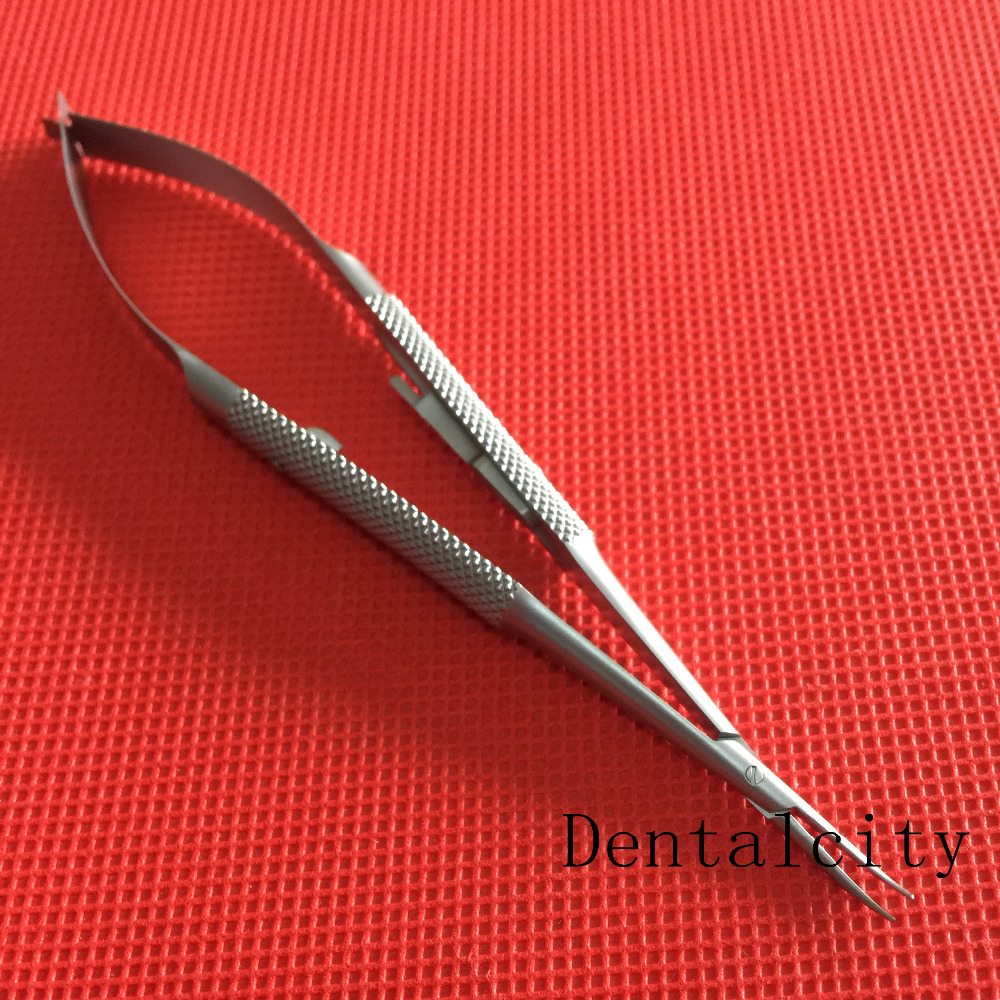 Best 1PCS Surgical Dental Castroviejo Needle Holders 140mm Curved Tool все цены