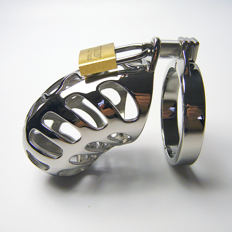 ФОТО 2017 New styles Breathable metal cock cage with lock male chastity device,CB6000S chastity cage sex toys for  men
