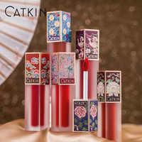 CATKIN amour éternel vive mélodie brillant à lèvres 4.2g brillant à lèvres mat paillettes nouveau maquillage 2018 hydratant nutritif brillant à lèvres clair