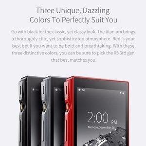 Image 3 - FIIO X5III X5 3nd Gen Android WIFI APTX podwójny AK4490 bezstratny przenośny odtwarzacz muzyki z wbudowanym pamięcią 32G