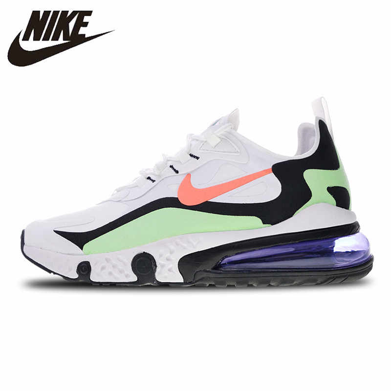 9d879269ebf22 Nike React Air Max Sneakers Breathable Stability Running Shoes Sports for  Men AQ9087-183 40
