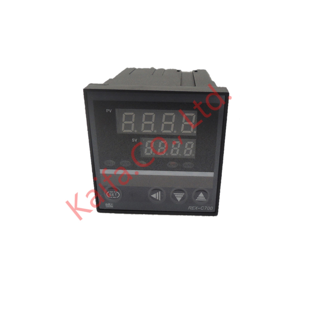 ,New Dual Digital PID Temperature Controller REX-C700 with multi-range Input SSR Output set of pid digital temperature thermostat regulator controller rex c100 with ssr output thermocouple k solid state relay ssr 40a