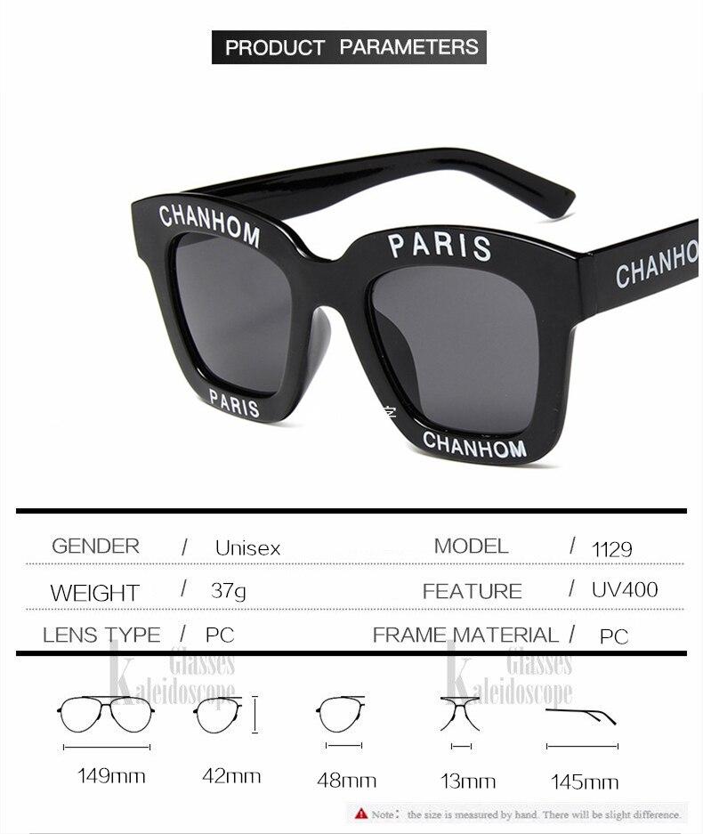 KUJUNY de carta gafas de sol marco grande personalidad gafas de sol ... 20174bd46ec8
