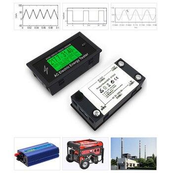 3KKW Numérique Tension Téléphone App AC Mètres Indicateur Puissance énergie Voltmètre Ampèremètre Courant Ampères Volt Wattmètre Testeur Détecteur