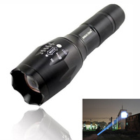 USA EU Hot Sell E17 CREE XM L T6 Led 2000LM Aluminum Zoom Flashlights Torches Light