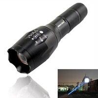 USA EU Hot Sell E17 CREE XM L T6 Led 2000LM Aluminum Zoom Flashlights Torches Light