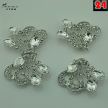NEW Hi-Q big rhinestone crystal metal buckles buttons for fur coats and cashmere coat clothing scrapbooking Accessories
