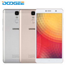 Original Doogee Y6 Max Cell Phone 6.5 inch 3GB RAM 32GB ROM MT6750 Octa Core 4300mAh Android 6.0 Fingeprint ID Smartphone