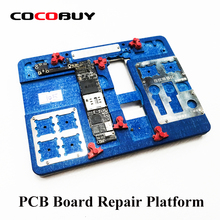 Novecel Multifunction Motherboard Repair Fixture PCB Holder JIG BOARD For iPhone 5S/6/6S/6SP/7/7P/8/8P/ XR Maintenance Platform цена в Москве и Питере