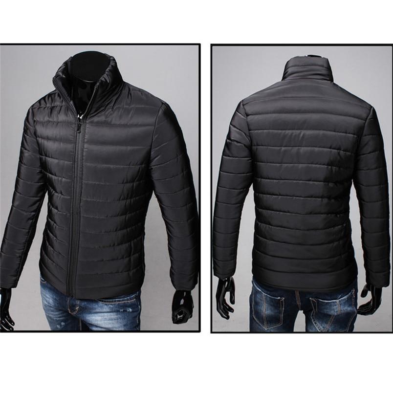 NEW Fashion Mens sports Cotton Stand Zipper Warm Winter Thick Coat Jacket Hiking Jackets Freeship #4n25 (3)