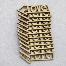 Free shipping 45*22mm 80pcs/bag wholesale high quality pendant die cutting Angle  wooden Christmas decorations 017001039