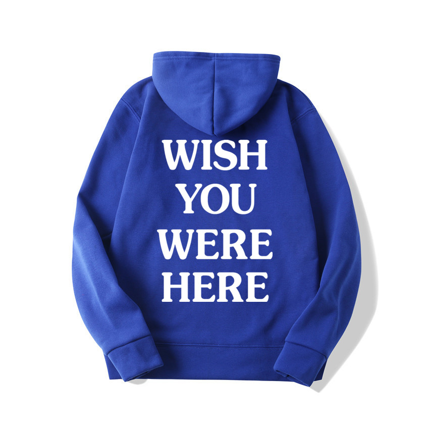 TRAVIS SCOTT ASTROWORLD WISH YOU WERE HERE HOODIES fashion letter ASTROWORLD HOODIE streetwear Man woman Pullover Sweatshirt 13