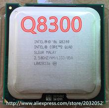 Lntel core 2 quad q8300 processador central (2.5 ghz/4 m/1333 ghz) soquete 775 desktop cpu (trabalhando 100% frete grátis)