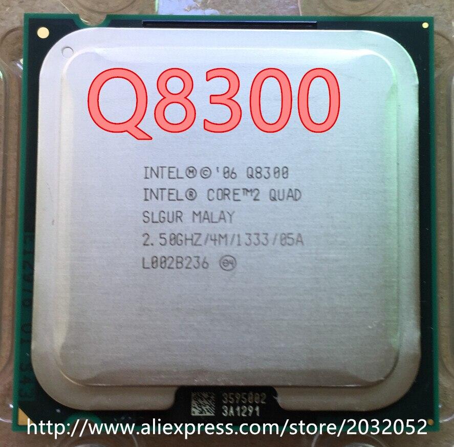Intel Core 2 Quad Q8300 2.5GHz Quad-Core CPU Processor 4M 95W LGA 775 Tested 100/% Working