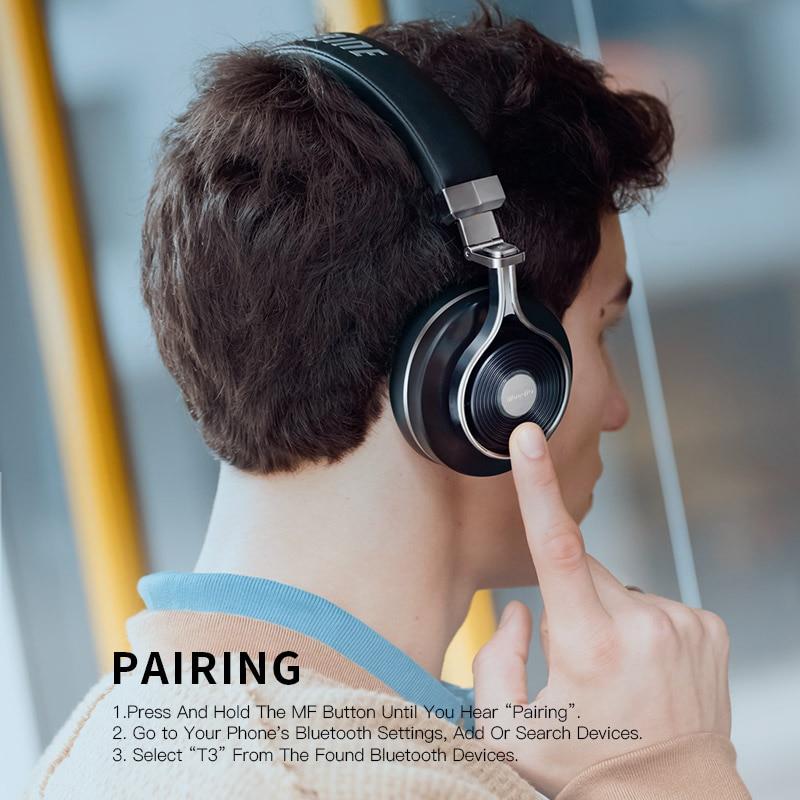 Bluedio T3 Bluetooth bežične slušalice 3D bas slušalice s - Prijenosni audio i video - Foto 4