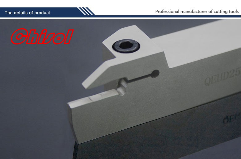 external parting and grooving tools Grooving tool holder QEHD2525L22/QEHD2525R22 for  carbide inserts ZTHD0504-MG hot selling internal grooving and turning tool holder c20q qfdl05 27 c20q qfdr05 27 for zccct carbide insert ztfd0303 mg