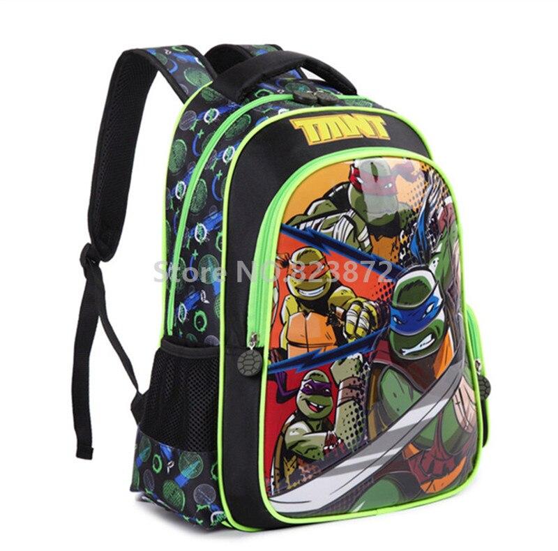 c0e1cade0da Teenage Mutant Ninja Turtles Rugzak Kinderen Schooltassen voor Jongens  Basisschool Rugzakken Kids Tas Rugzakken Schooltas in Teenage Mutant Ninja  Turtles ...
