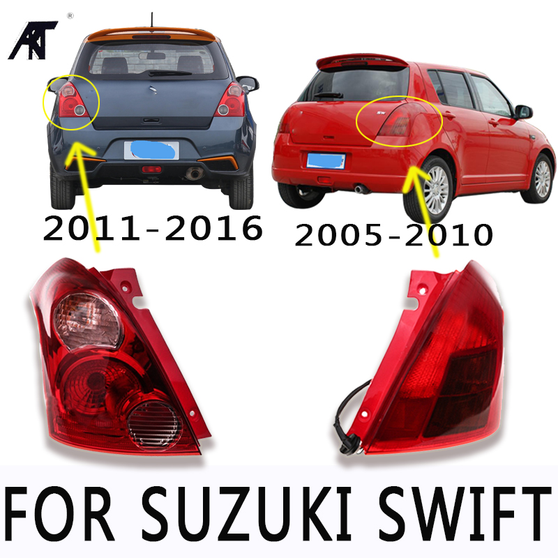 Rear brake light tail light stop light taillight warning light lamp For Suzuki Swift 2005-2016 1 pc outer rear tail light lamp taillamp taillight rh right side gr1a 51 170 for mazda 6 2005 2010 gg page 7