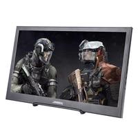 13.3 inch LCD Portable IPS Monitor Full HD Screen 1920x1080 Gaming Monitor PC Ultra Thin Black Metal Shell HDMI/USB Speaker PS4