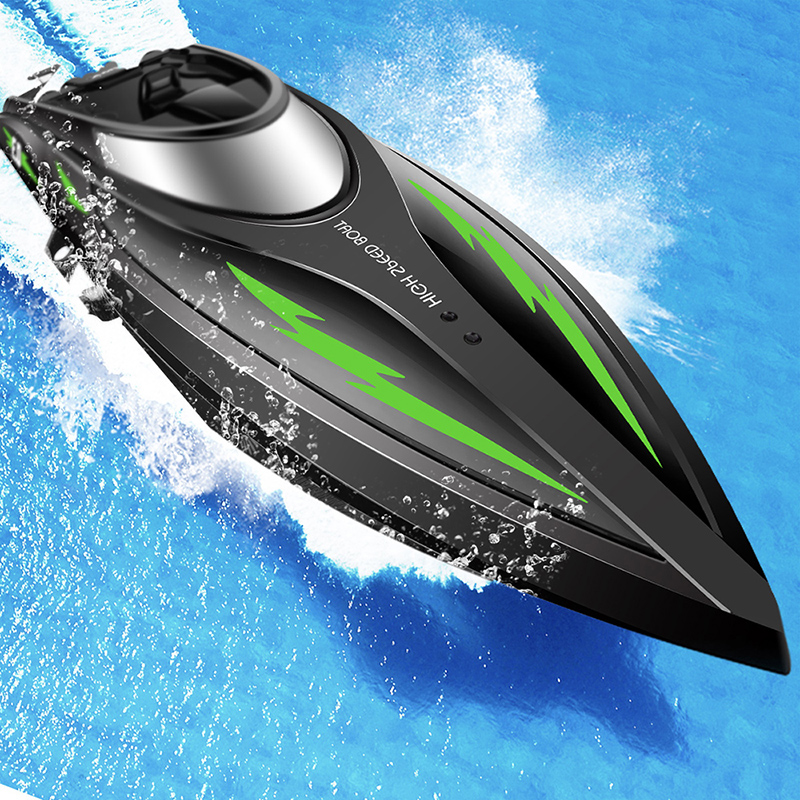 RC Boat Speedboat Remote Control Ship 2.4GHZ 4CH Racing Boat High Speed Dual Waterproof  ...