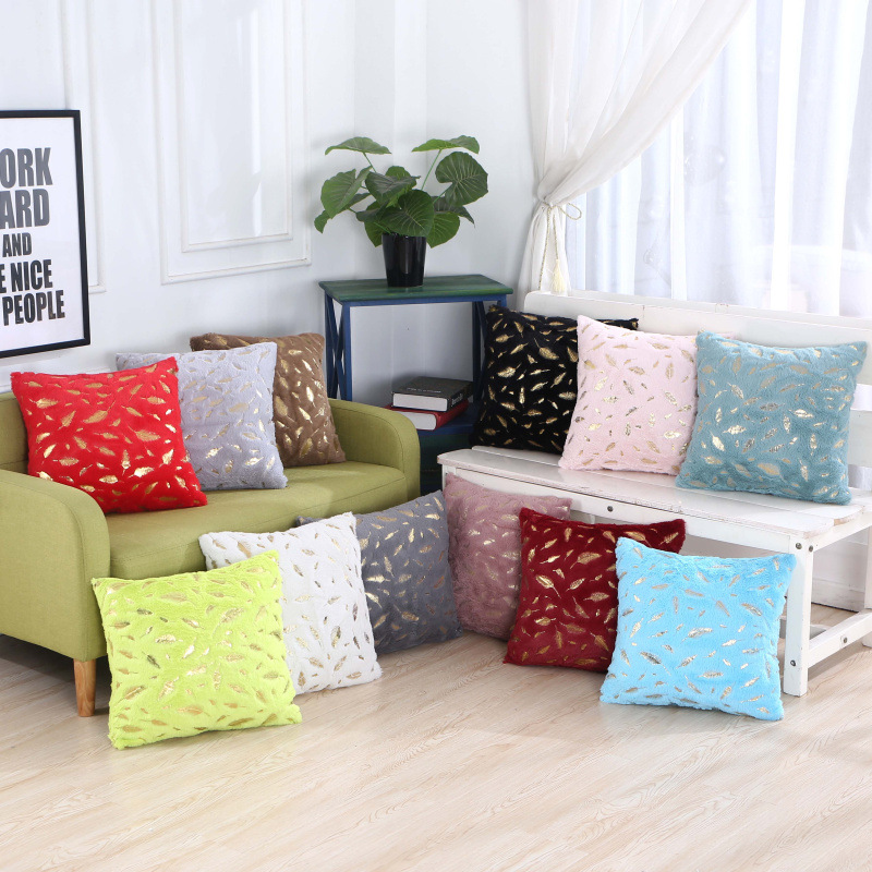 Soft Fur Decorative Cushion Cover Home Plush Pillow Case Pillowcases Pillows Bed Room Seat Decoration Sofa Throw Pillow Overs