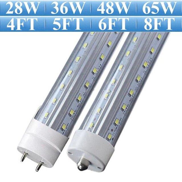 4ft 5ft 6ft 8ft V Shaped Led T8 T10 T12 Light Super Bright Cree