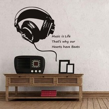 Buy Music Headphones Quotes And Get Free Shipping On Aliexpress Com