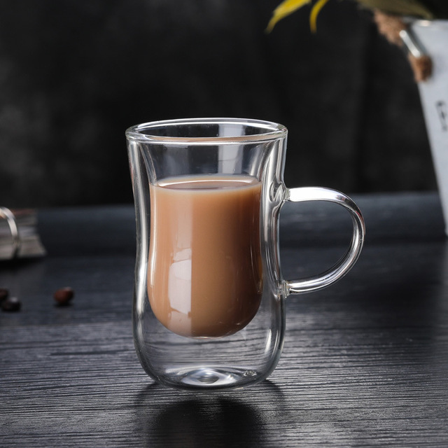 Double Wall Glass Coffee Cup