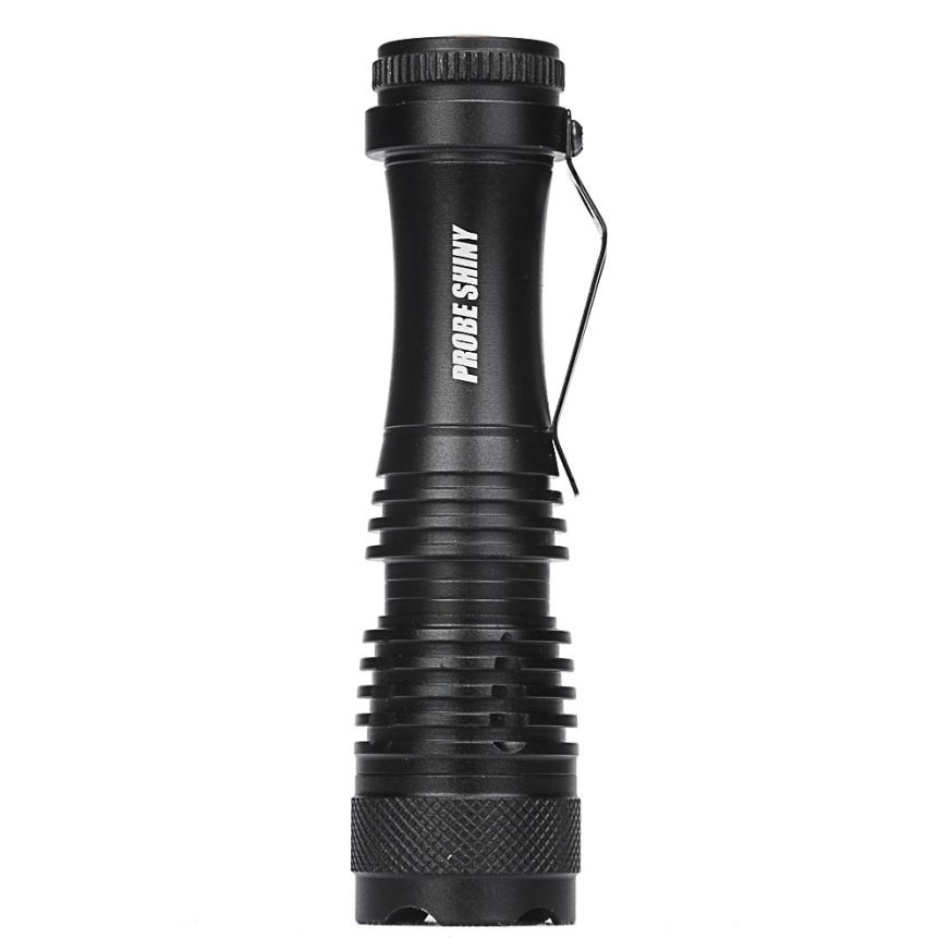 MUQGEW CREE Chips Q5 AA/14500 3Mode ZOOM LED Super Bright Flashlight MINI Police Torch Outdooors Waterproof Mounted On Bicycle