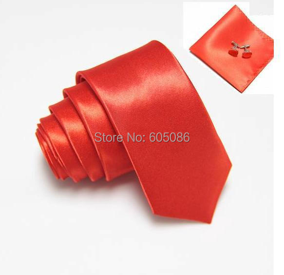 HOOYI 2018 fashion slim neck tie set mens ties sets Handkerchiefs cufflinks Pocket square