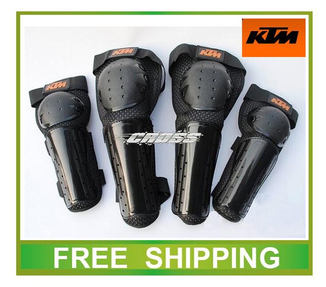 CE libre del envío de la motocicleta ktm motocross protección codo protector de la rodilla almohadillas off road bike racing accesorios térmica