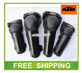 free shipping CE motorcycle motocross protection ktm elbow knee protector pads off road bike thermal racing accessories