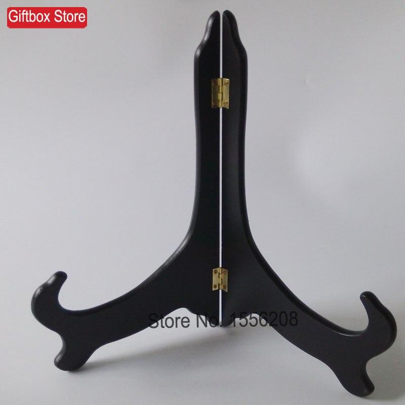 (5ks / lot) 12palcový dřevěný dřevěný stojanový stojan na stojan pro držák plechového rámečku