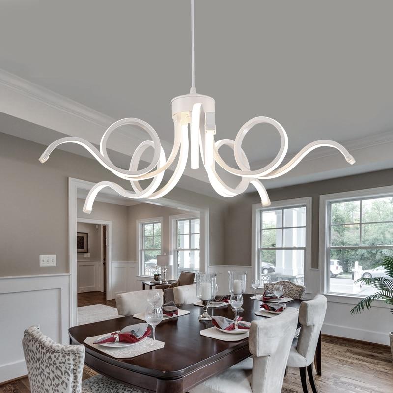 living room Ceiling Lights personalized art designer dimming LED Nordic modern restaurant lights Ceiling lamps FG63
