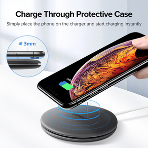 Image 4 - Ugreen Wireless Charger 10W 7.5W Qi Wireless Charging for xiaomi mi 9 iPhone 12 8 X Samsung S9 S8 Fast Phone Wireless Charger