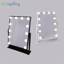 LED Touch Screen Makeup Mirror light, Black white dimmable l