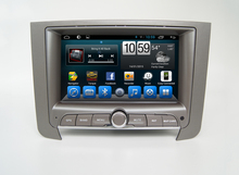 Reproductor de dvd de coche Navirider para Ssang Yong Rexton w octa core android 8.1.zero unidad major multimedia gps para coche grabadora de cinta ESTÉREO