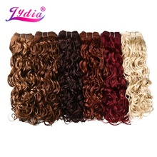 Lydis 1PCS Synthetic Natural Wave Hair Extensions 18