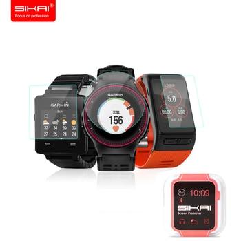 SIKAI For Garmin Smart Watch Tempered Glass Screen Protector Screen Guards For Garmin Forerunner 220 Approach Fenix Vivoactive  เมาส์