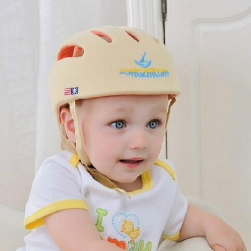 Image 5 - Brand Baby Cap Safety Helmet For Babies Boy Girl High Quality Infant Protective Hat Toddler Drop Resistance Safety Productshelmet for babiessafety helmet for babiesbaby cap -