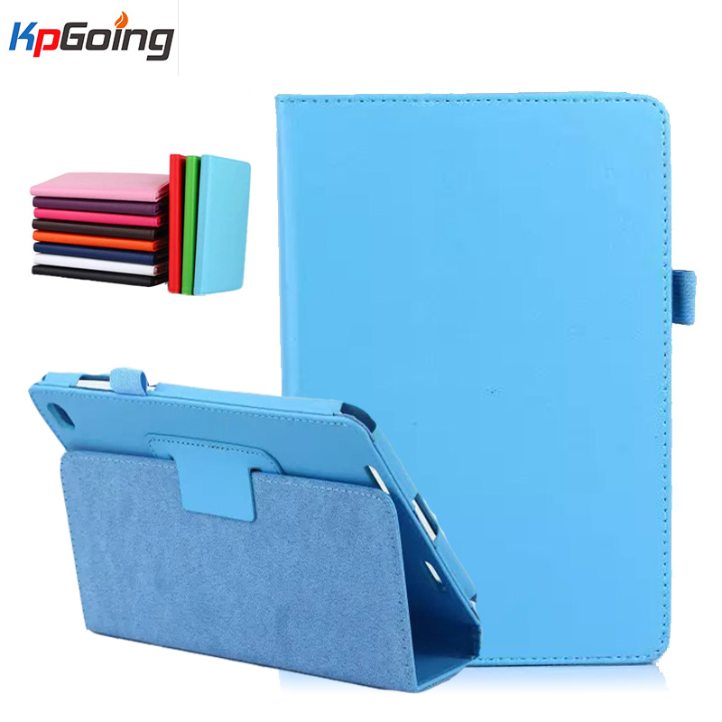 Solid Business Case for Xiao Mi Pad 2 for Xiaomi Mipad 2 Stand Case For Xiaomi Mi Pad2 Cover Luxury Flip Pu Leather for Mipad2 protective pu leather tpu case for xiaomi mi 2 purple black
