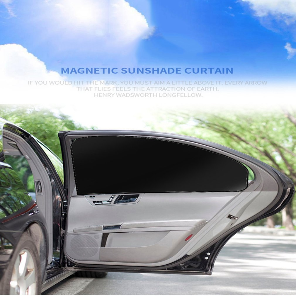 Kid Universal Car Sun Shades Cover For Rear Side Window UV Protection for Baby