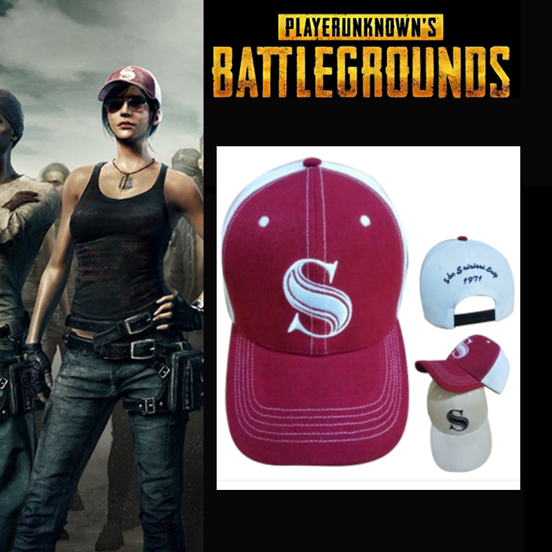 2017 Game Playerunknown's Battlegrounds PUBG Winner Winner Chicken Dinner Cosplay Hat Halloween Unisex Embroidered Baseball Caps