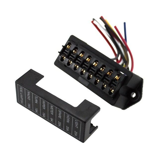 8 Circuit Fuse Box - Wiring Data Diagram