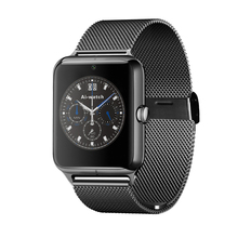 Bluetooth3.0 Z50 Reloj Teléfono Inteligente Conectado con la cámara Tarjeta SIM Soporte de Tarjeta TF LF11 SmartWatch Para ios y Android smartphone