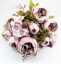 Декоративные цветы Европейский полноценно шелк пион искусственные цветы искусственные цветы главная floralDecorative цветы